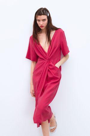 Zara Vestito con nodo