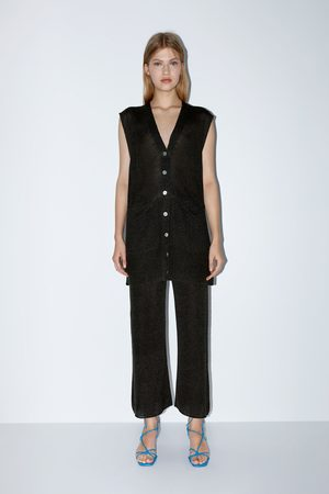 Zara Gilet in maglia spacchi