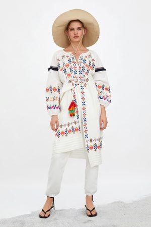 Zara Tunica ricami colori