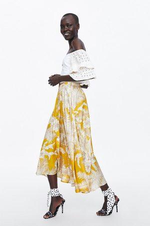 Zara Donna Gonne - Gonna stampa floreale