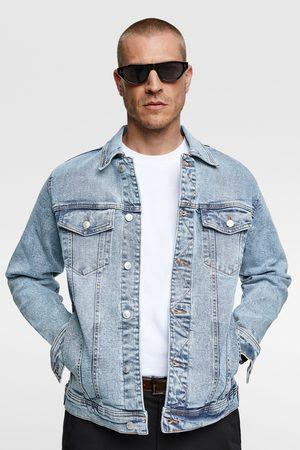 Zara Uomo Giacche di jeans - Giubbotto denim comfort