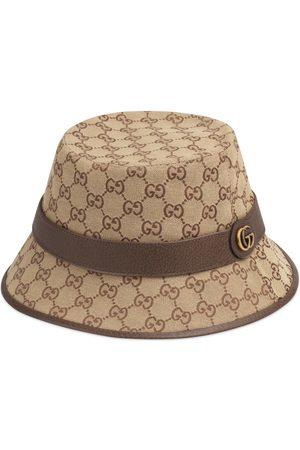 Gucci Uomo Cappelli - Cappello fedora in tessuto GG
