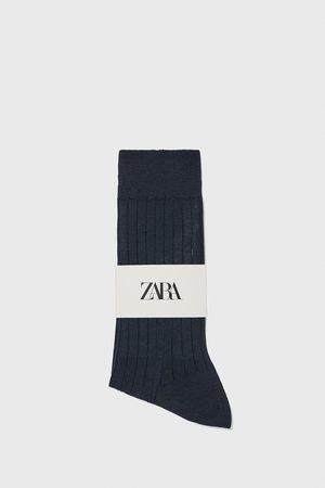 Zara Uomo Calze - Calzini a costine cotone mercerizzato premium