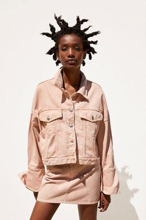 Zara Donna Giacche di jeans - Giubbotto denim colorato
