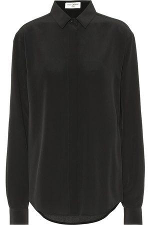 Saint Laurent Camicia in seta