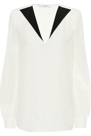 Givenchy Blusa in crêpe di seta
