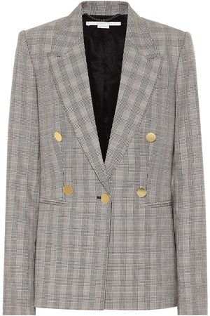 Stella McCartney Giacca in lana Principe di Galles