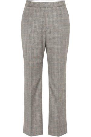 Stella McCartney Pantaloni in lana Principe di Galles