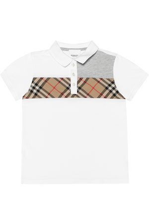 Burberry Polo Vintage Check in cotone