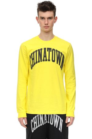 """Chinatown Market T-shirt """"arc"""" In Jersey Di Cotone"""