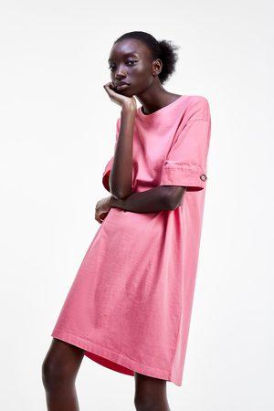 Zara Vestito con bottone