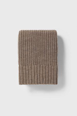 Zara Uomo Sciarpe - Sciarpa a costa perlata