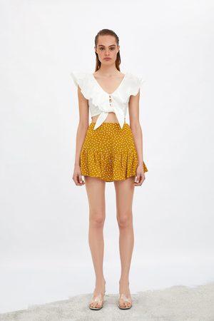 Zara Gonna shorts stampata