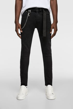 Zara Jeans cintura catene