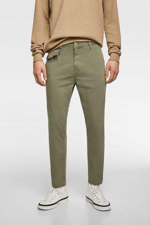 Zara Pantaloni chino new cropped