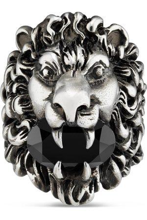 Gucci Uomo Orologi - Anello testa di leone con cristallo