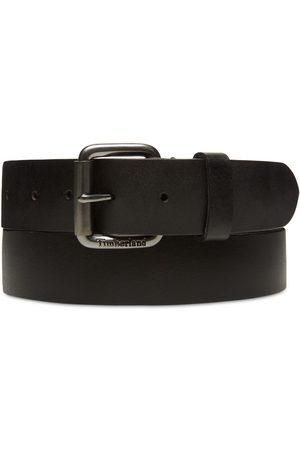 Timberland Cintura Con Fibbia A Rullo Da Uomo Nera