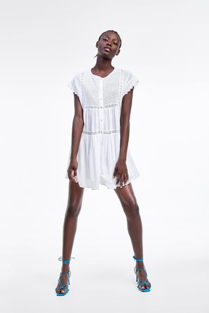 Zara Vestito ricami