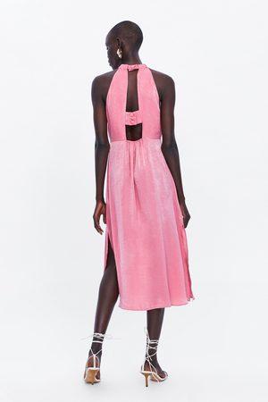 Zara Vestito midi satin