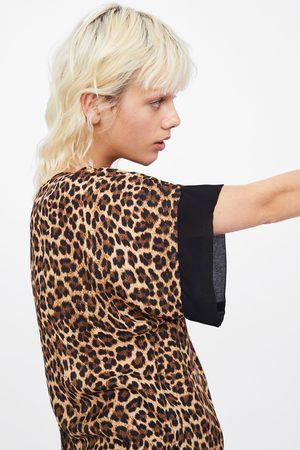 Zara Camicetta con stampa animalier