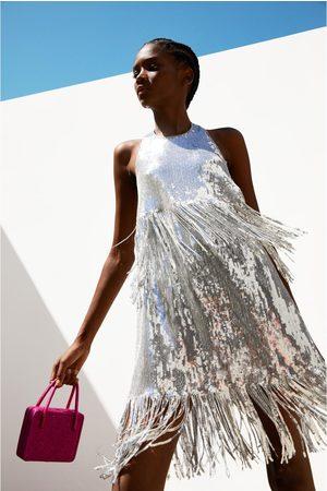 Zara Vestito paillettes frange edizione limitata