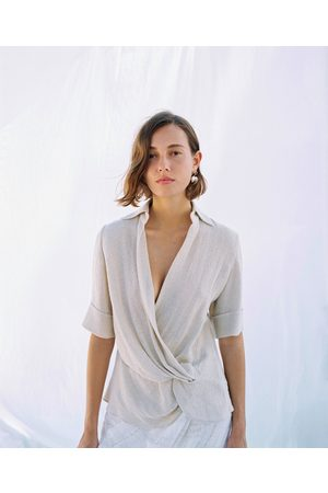 Zara Camicetta rustica con nodo