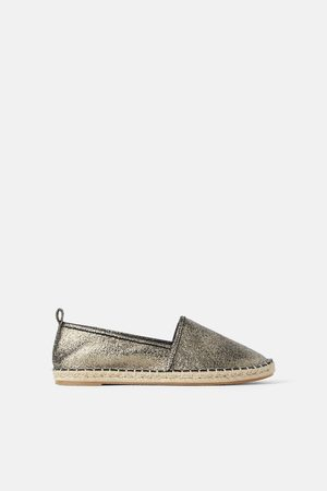 check-out be486 eab83 Espadrillas metallizzate