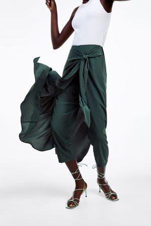 Zara Gonna pantalone con nodo