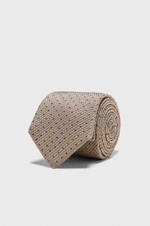 Zara Cravatta larga jacquard a pois
