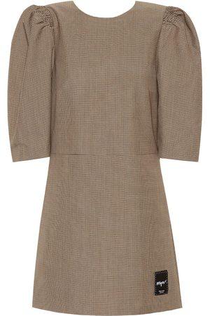 Msgm Donna Vestiti - Miniabito in misto lana