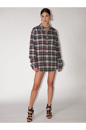 Dsquared2 Camicia In Cotone A Quadri