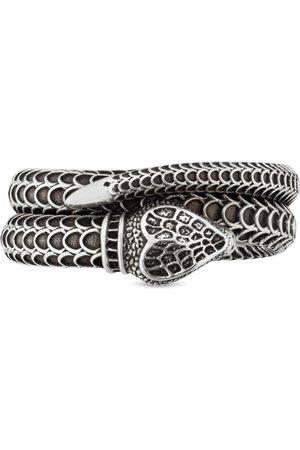 Gucci Orologi - Anello serpente Garden in argento