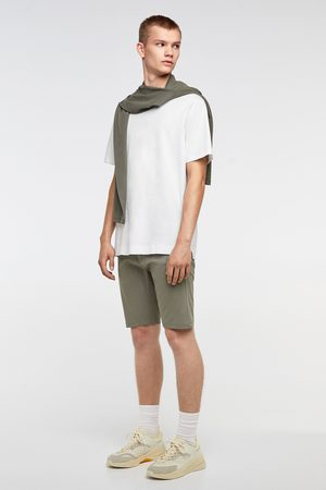 Zara Bermuda basic cotone