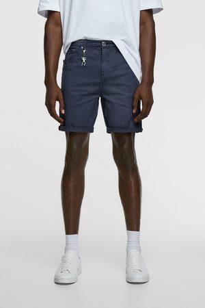 Zara Uomo Pantaloncini - Bermuda basic new skinny