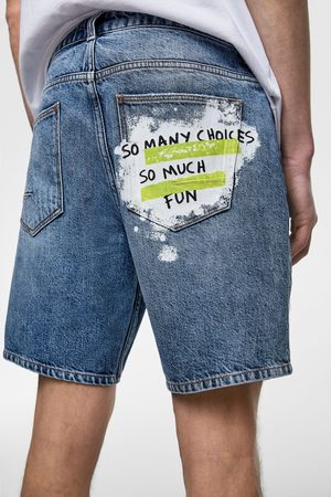 Zara Bermuda jeans con taschini