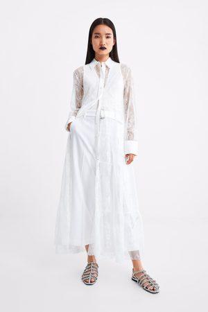 Zara Pantaloni culotte cintura