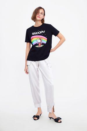 Zara Donna T-shirt - Maglietta snoopy peanuts ®
