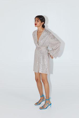 Zara Donna Vestiti - Giacca-vestito con paillettes
