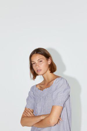 Zara Donna Vestiti - Vestito con elastici