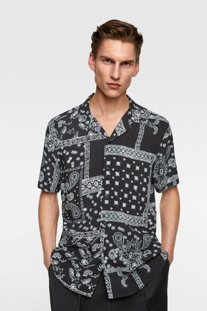 Zara Camicia stampa bandana