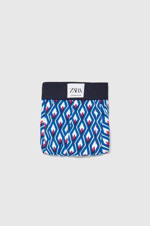 Zara Boxer stampa geometrica