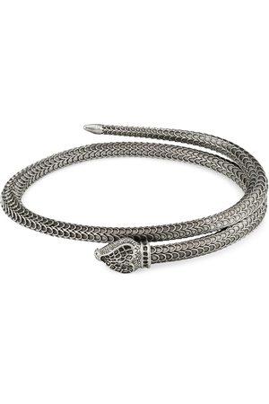Gucci Bracciale Garden in argento a serpente