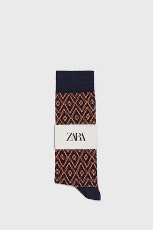 Zara Calzini cotone mercerizzato geometrici