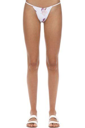SAHARA RAY SWIM Slip Bikini Con Stampa Digitale