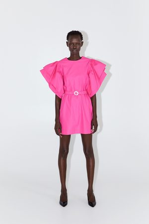Zara Vestito con maniche voluminose