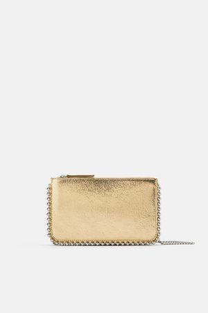 Zara Borsa a tracolla a pochette con borchie