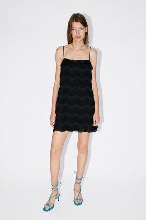 Zara Vestito con frange
