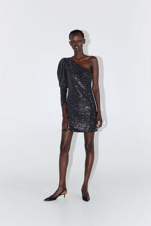 Zara Vestito asimmetrico paillettes