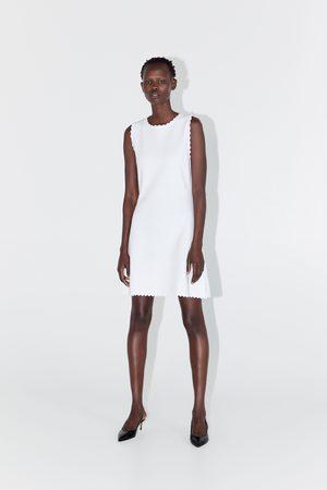 Zara Vestito in maglia ondulato