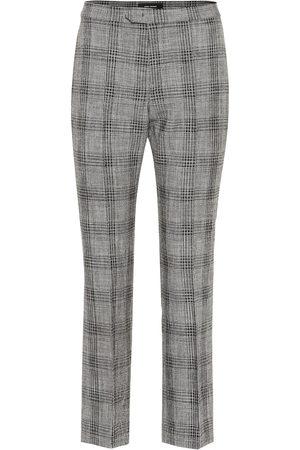 Isabel Marant Pantaloni Derys in cotone e lana